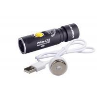 Фонарь Armytek Prime С1 Pro Magnet USB теплый свет + 18350 Li-Ion аккумулятор
