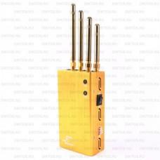 Карманный блокиратор связи Спутник GSM GPS
