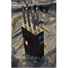 Карманный многодиапазонный GSM, 3G, Wi-Fi, 4G блокиратор телефонов Шершень