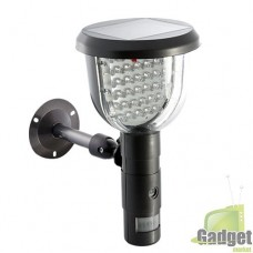 Камера охранного наблюдения Solar фонарь на солнечной батарее, датчиком движения, Светодиодной и ИК подсветкой