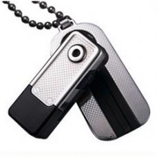Миниатюрная видеокамера кулон автомобильный видеорегистратор G100 охранная видеокамера
